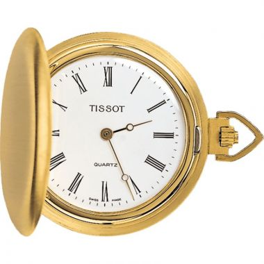 Tissot 18k Yellow Gold T-Pocket Watch